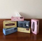 Салфетки бумажные в коробке с маркировкой «ORIENT» - 250W (Япония)