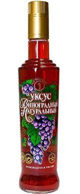"""Уксус """"Премиум"""" виноградный 6% натуральный 500 мл"""