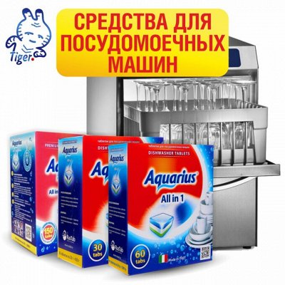 Master Fresh - мастер мытья в посудомоечной машине — Aquarius средства для посудомоечных машин  (Италия) — Для посудомоечных машин