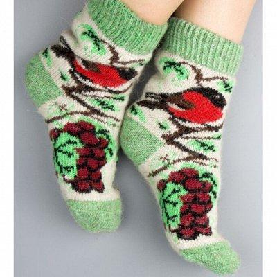 ТМ *РусБубон*. Шапочки, носочки для всей Семьи.Много Новинок — Женские шерстяные носки — Носки