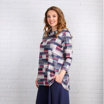 Яркая домашняя одежда от Синель 17 (до 68 размера) — Туники — Повседневные платья