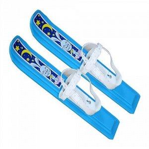 """Мини-лыжи """"Юниор"""" 47 см, крепление мягкое пластик. (в сетке) 0833-00 (1/15) 104.00"""
