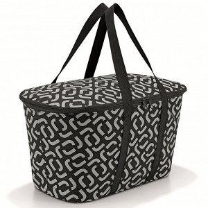 Термосумка Coolerbag signature black