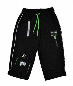 Бриджи Beneti 2306 Черный/Зеленый *