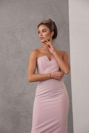 Платье-футляр с корсетным верхом