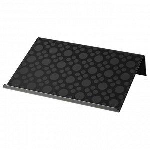 BRADA БРЭДА   Подставка для ноутбука, черный   42x31 см.