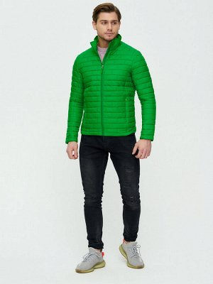 Куртка стеганная Valianly зеленого цвета 93354Z