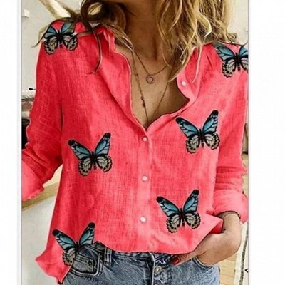 ღЖаркое летоღ#Стильная одежда по доступным ценамღ — Рубашки и блузы Plus Size — Большие размеры
