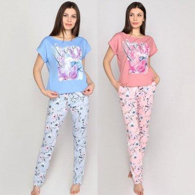 ღ MaRGoღ Яркие футболки, весенние принты. — Комплекты — Сорочки и пижамы