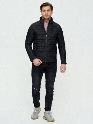 Куртка стеганная Valianly черного цвета 93354Ch