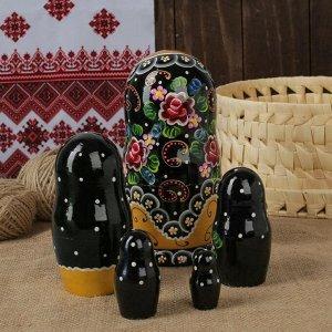 "Матрёшка 5 -ти кукольная ""Елена"" узоры,  17-18 см"