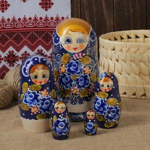 """Матрёшка 5 -ти кукольная """"Жанна"""" узоры,  17-18 см"""