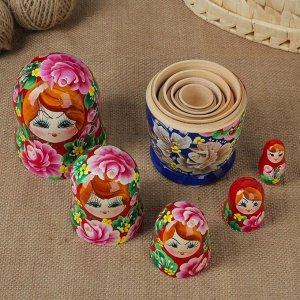 """Матрёшка 5 -ти кукольная """"Светлана"""" розы, 17-18 см"""