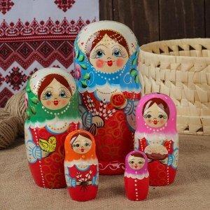 """Матрёшка 5 -ти кукольная """"Пасха"""",  17-18 см"""