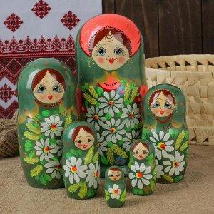 "Матрёшка 7-ми кукольная ""Арина"", 21см"