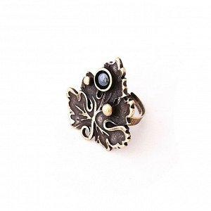Кольцо Лист смородины (бронза) 115028104-8