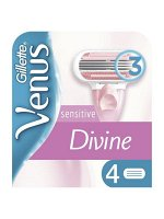 Gillette Venus сменные кассеты Divine 4 шт