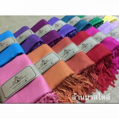 Приехали новинки! Тайский супермаркет! Сток! В наличии! —  Тайские шарфы, пашмины и шали 100% шерсть, шелк и хлопок — Шарфы