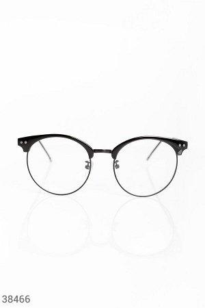 Имиджевые очки с прозрачными линзами