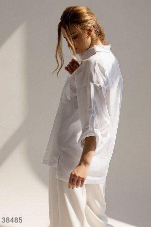 Базовая белая рубашка