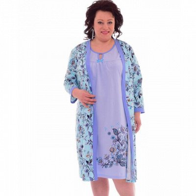 ™Новое кимоно. Уютный трикотаж  для всей семьи.  — Женский трикотаж. Комплекты — Домашние костюмы