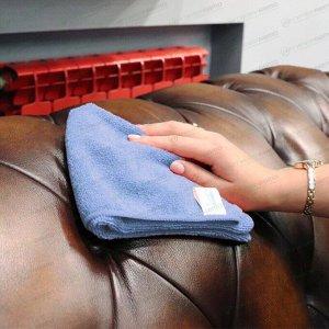 Салфетка Kolibriya Nimbi-44, для сухой и влажной уборки, для дома, из микрофибры, 400x400мм, синяя, арт. Nim-0549.blu