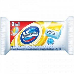DOMESTOS (ДОМЕСТОС) Блок Гигиенический Сменный для унитаза Лимон 40г