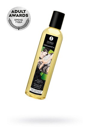 Масло для массажа Shunga Organica Aroma and Fragrance Free, натуральное, возбуждающее, без аромата,