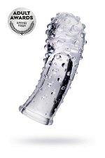 Насадка на палец A-toys Gexa, ТРЕ, прозрачный, 9 см