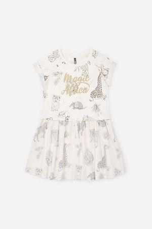 Платье(Весна-Лето)+girls (сливки, африка к291)