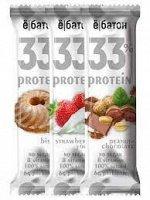 Ё|батон 33% Protein bar батончик неглазированный (45 гр.)