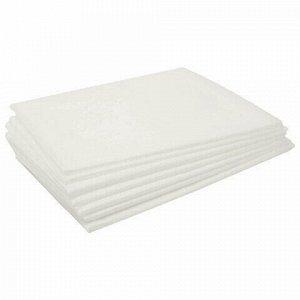 Простыни одноразовые ЧИСТОВЬЕ нестерильные, комплект 100 шт., 70х80 см, СМС 14 г/м2, белые, 01-633