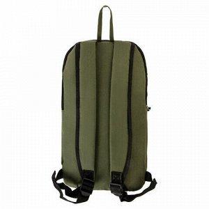 Рюкзак STAFF AIR компактный, хаки, 40х23х16 см, 270291