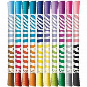 """Фломастеры двусторонние MAPED (Франция) """"Color'peps Duo"""", 10 штук, 20 цветов, 4,7 мм, смываемые, 847010"""