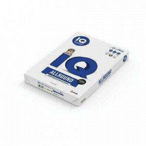 Бумага офисная IQ ALLROUND, БОЛЬШОГО ФОРМАТА (297х420 мм), А3, 80 г/м2, 500 л., марка В, Mondi, белизна 162%