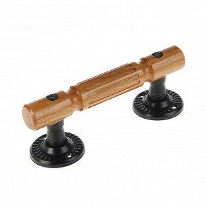 Ручка-скоба Винтаж-2 РС140-S, цвет черный матовый