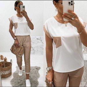 Костюм(блузка и брюки)
