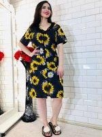 Платье домашнее, цвет в ассортименте