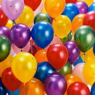 PARTY-BOOM — все для твоего праздника и куража! Шары — Латексные воздушные шары без рисунка — Воздушные шары, хлопушки и конфетти
