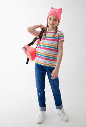 Футболка детская для девочек Labrags полоска