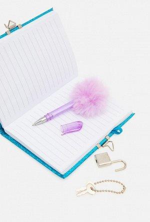 Набор из блокнота и ручки дет. Kiara разноцветный