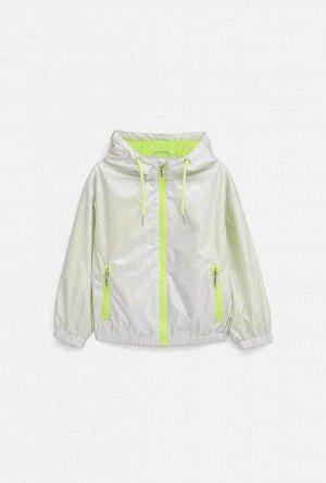 Куртка детская для девочек Meepo серебряный