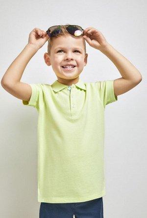 Сорочка-поло верхняя детская для мальчиков Grumpy желтый