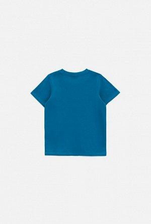 Футболка детская для мальчиков Fort синий