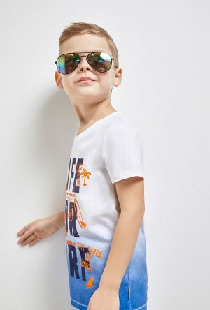 Футболка(Фуфайка) детская для мальчиков Triton белый