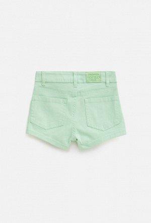Шорты детские для девочек Rein2 светло-зеленый