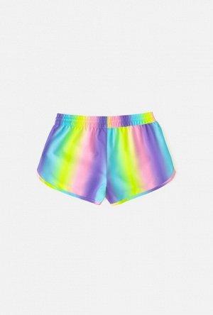 Купальные шорты детские для девочек Derpy цветной