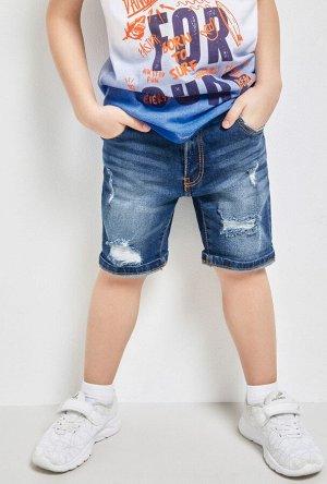 Шорты джинсовые детские для мальчиков Idgen синий