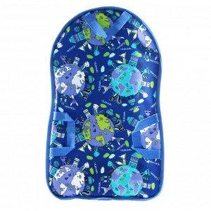 Ледянка детская мягкая ЛДМ.06 (600х350х10) синяя
