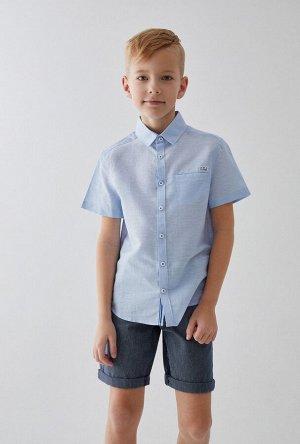 Сорочка верхняя детская для мальчиков Esenin голубой